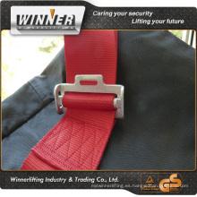 Rojo / negro correas para silla de cincha