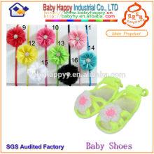 Вязаные детские туфли оптом