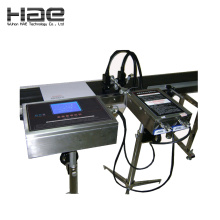Multi head inkjet printer for bar code