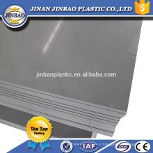 высокое качество дешевые твердой поверхности 3мм 5мм твердого листа PVC цены