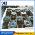 Цена 50 мм Чугун Pn16 Dn100 Вода Din 3352 F4 Упругий седельный вентиль с фланцевым уплотнением
