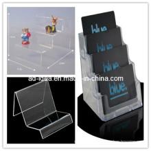 Plastic Spice Rack Plexiglass Menu Display Plexiglass Cosmetic Display