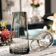 Modern Colorful Glass Vases for Home Decoration