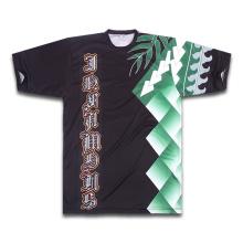 2015 El nuevo diseño se divierte la camiseta para el bádminton (SMT-803)