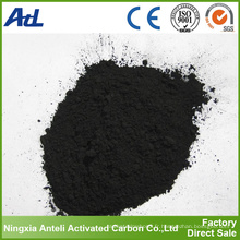 décoloration chimique charbon actif