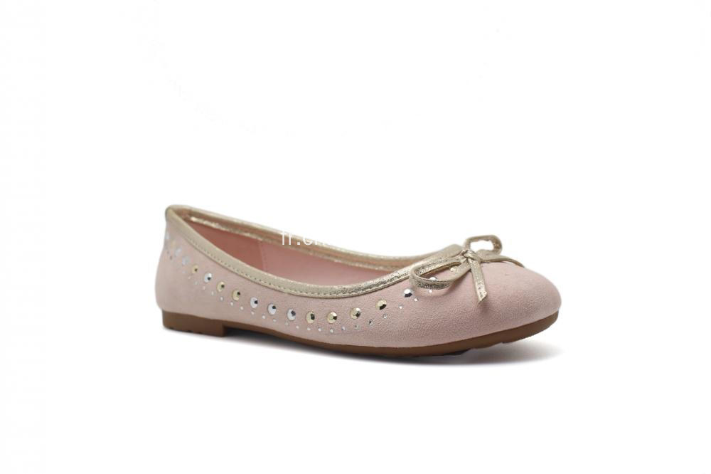 Chaussure thermocollante avec ballerines bowknot