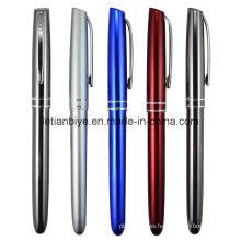 Nuevo diseño de aluminio barato Metal Roller Pen (LT-C690)