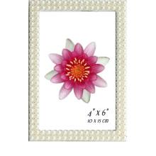4x6inch perle Photo cadre pour Photos de mariage