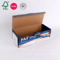 Boîte faite sur commande d'emballage de papier ondulé de carton de conception imprimant le fournisseur chinois