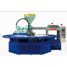 Máquina de moldeo por inyección de plástico rotatoria automática del PVC con CE