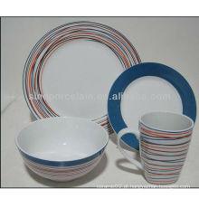 Nice 16pcs cerâmica rodada jantar conjunto BS130304A