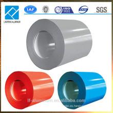 Bobina de aluminio revestida del PVC de la venta caliente para la construcción, el edificio y la decoración