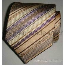 Cravate en jacquard tissée en soie