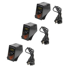 Tattoo mini Power Supply Digital with matched Plug Cable Kit