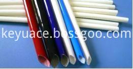 Silicone fiberglass sleeve