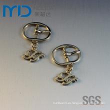 Forme la hebilla del Pin con las gotas para la correa elegante de los zapatos de señora