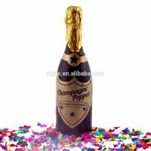 Champagne Bottle Party Popper para fiesta de cumpleaños