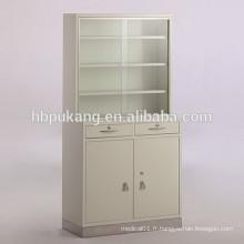 Armoires de rangement médical avec portes