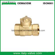Válvula de bola magnética de latón fabricada en Italia (AV10067)