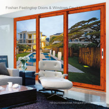 Modern Exterior Aluminum Doors with European Style (FT-D126)