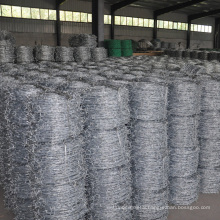 Factory Supplier 400m Heavy Zinc Coated Barbed Wire Fencing Prices