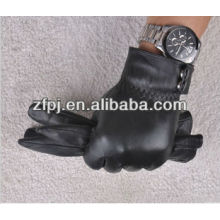 Mens manufacture fashion winter leather gloves in China