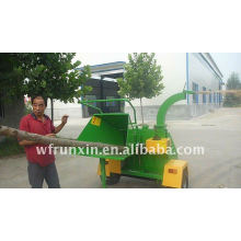 self feeding wood chipper with CE certification