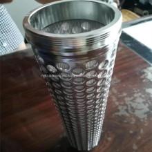 Filtros de metal de malla de alambre sinterizado de acero inoxidable