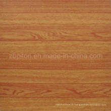Tuile de plancher de vinyle de PVC de plancher de parquet