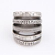 Einfache Design Edelstahl-Legierung Ring für Männer und Frauen
