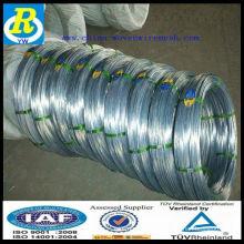 Fio galvanizado / fio de ferro galvanizado / corda de aço galvanizado
