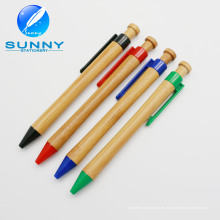 Pluma de bola de bambú respetuosa del medio ambiente vendedora superior para promocional