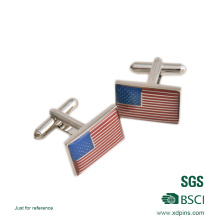Fashion Brass Soft Enamel Cufflinks for Men