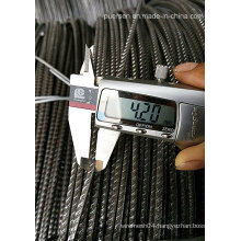 Cold Drawn Ribbed Wire /Ribbed Cold Drawn Wire W8f W10f
