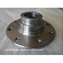 Вковки фланца нержавеющей стали с подвергать механической обработке CNC