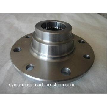 Flange de aço inoxidável do forjamento com fazer à máquina do CNC