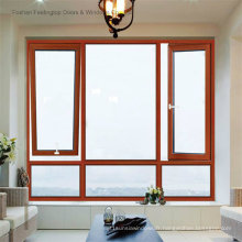 Cadres de fenêtre commerciaux en aluminium de simplicité (FT-W80)