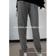 Sharrefun Loungewear 12gg femmes tricotées pur bloomers en cachemire