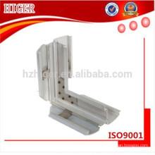 piezas de ventanas, perfiles de extrusión de aluminio 6061 T6 y 6063