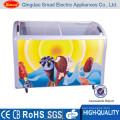 Supermarket showcase refrigerator commercial supermarket open display fridge blast freezer