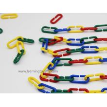 Chaîne pédagogique de jouets pédagogiques pour l'activité de comptage et de tri