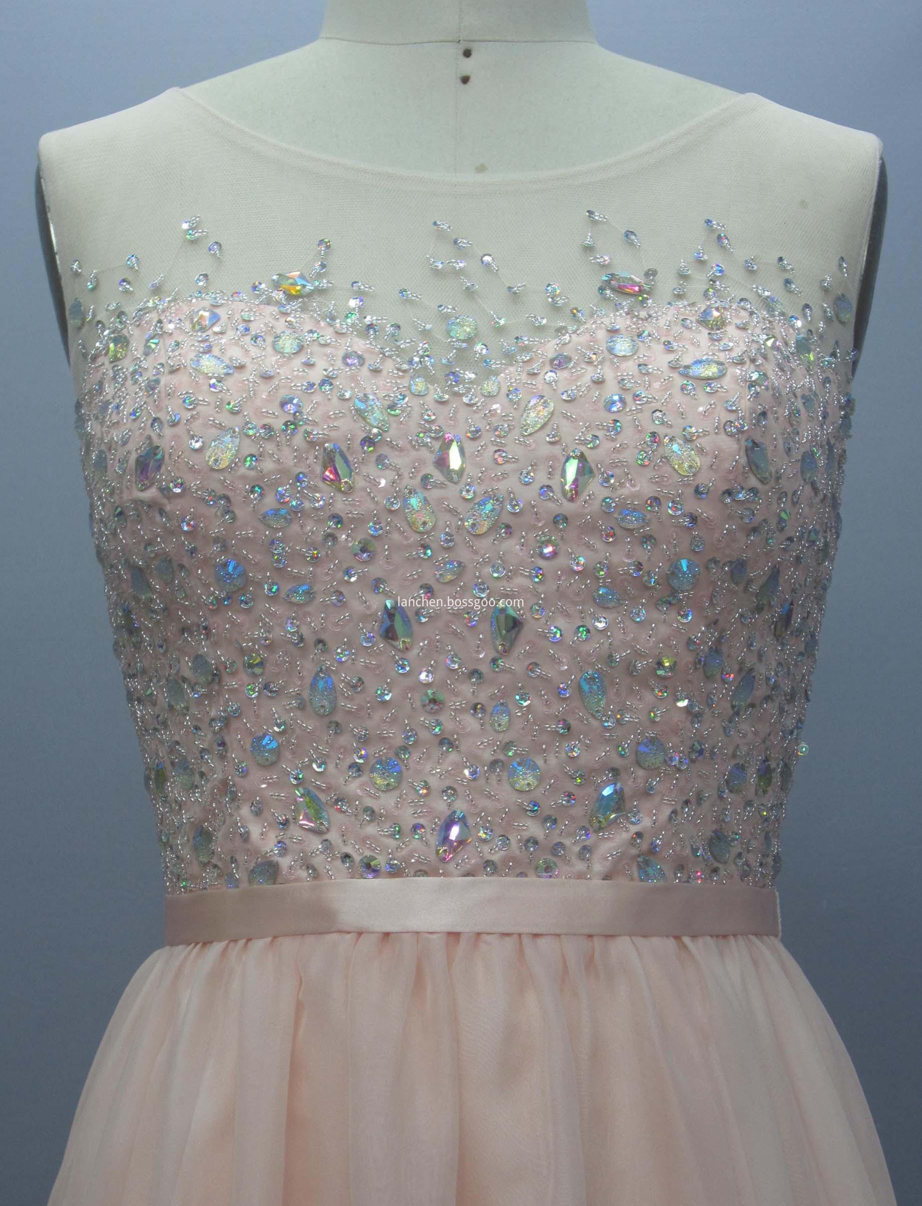 Neckline Cocktail Dress
