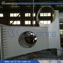 dredge bow coupling installation for TSHD (USB-9-001)