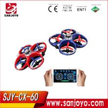2017 Novo Produto CX-60 de Tiro Infravermelho Pai-filho Jogos de Combate Telefone Wifi Batalha Drones No Céu SJY-CX60