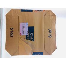 Bolsa de embalaje de cemento plástico de papel de 2 + 1 capa