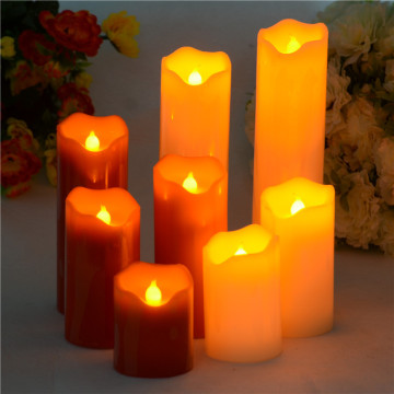 Battery Operated Flameless  Wax LED Candle