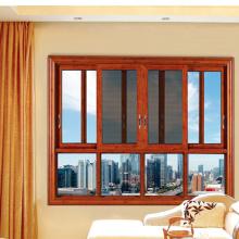 Fenêtre en aluminium de glissement thermique de fente de revêtement de poudre de Feelingtop