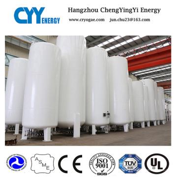 Tanque de almacenamiento criogénico de oxígeno líquido a baja presión con ASME GB