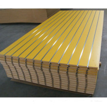 15mm 18mm Slotted Melamine MDF