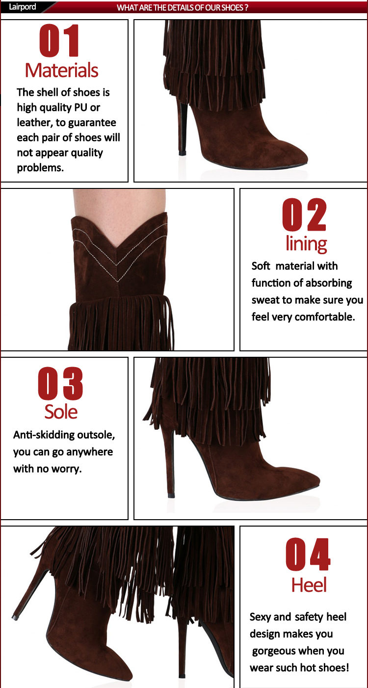 trends popular style tassel boots